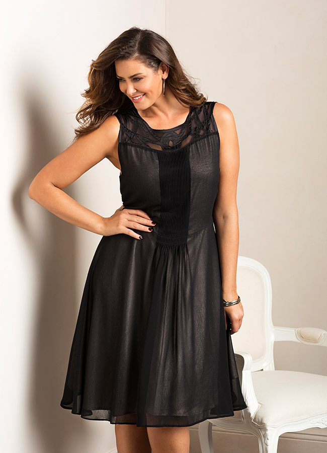 Plus-Size-Black-Dress