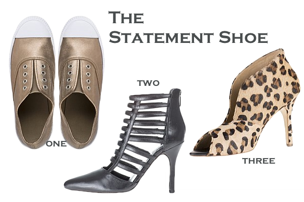 Statement shoe