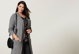 Sara Coatigan, available in berry, black and grey.