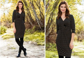 Get Winter ready with the Capture Knit Dress