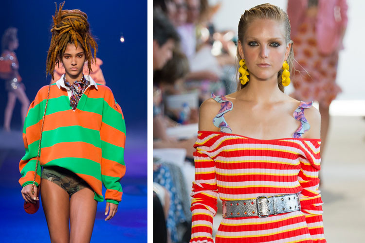 Rainbow Stripes for Spring 2017