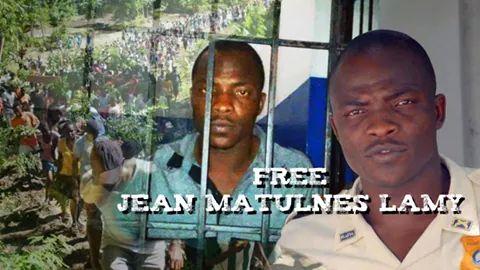 Jean Lamy Maltunes released from prison, on December 12, 2014 Credit: Radio VKM