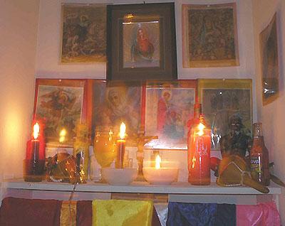voodoo-spirits-altar