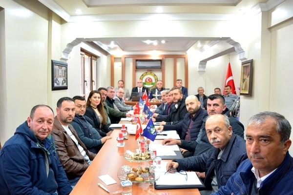 ÇTB OCAK AYI OLAĞAN MECLİS TOPLANTISI  BAYRAMİÇ'TE YAPILDI