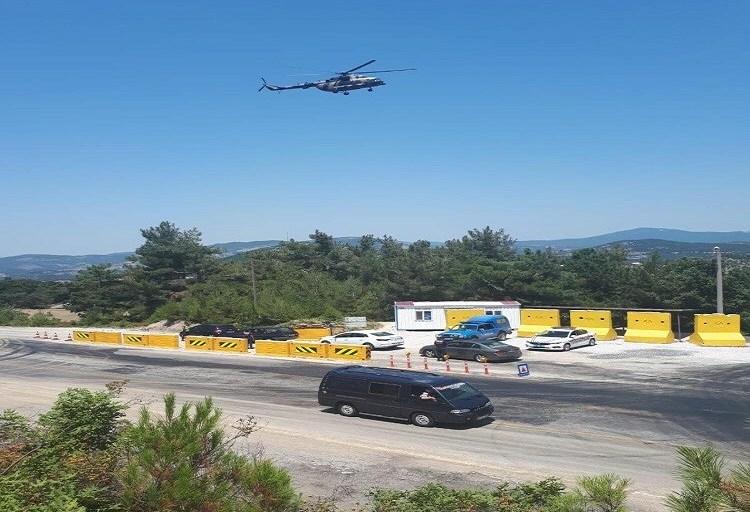 Çanakkale'de Jandarma'dan Trafiğe Havadan Denetim