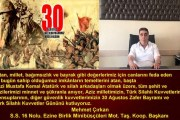 Mehmet Çırkan 30 Ağustos Zafer Bayramı Mesajı