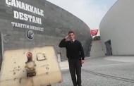 """Çanakkale Tarihi Alandan """"Mehmetçiğe Selam Olsun"""" Videosu"""