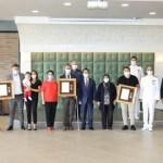 Çanakkale'de Devlet Övünç Madalyası ve Beratı Tevcih Töreni Düzenlendi