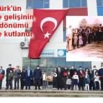 Atatürk'ün Ezine'ye gelişinin 87. yıldönümü törenle kutlandı