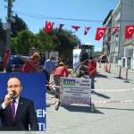 """TURAN:  """"ÇARDAK'A DOĞAL GAZ İÇİN İLK KAZMA VURULDU"""""""