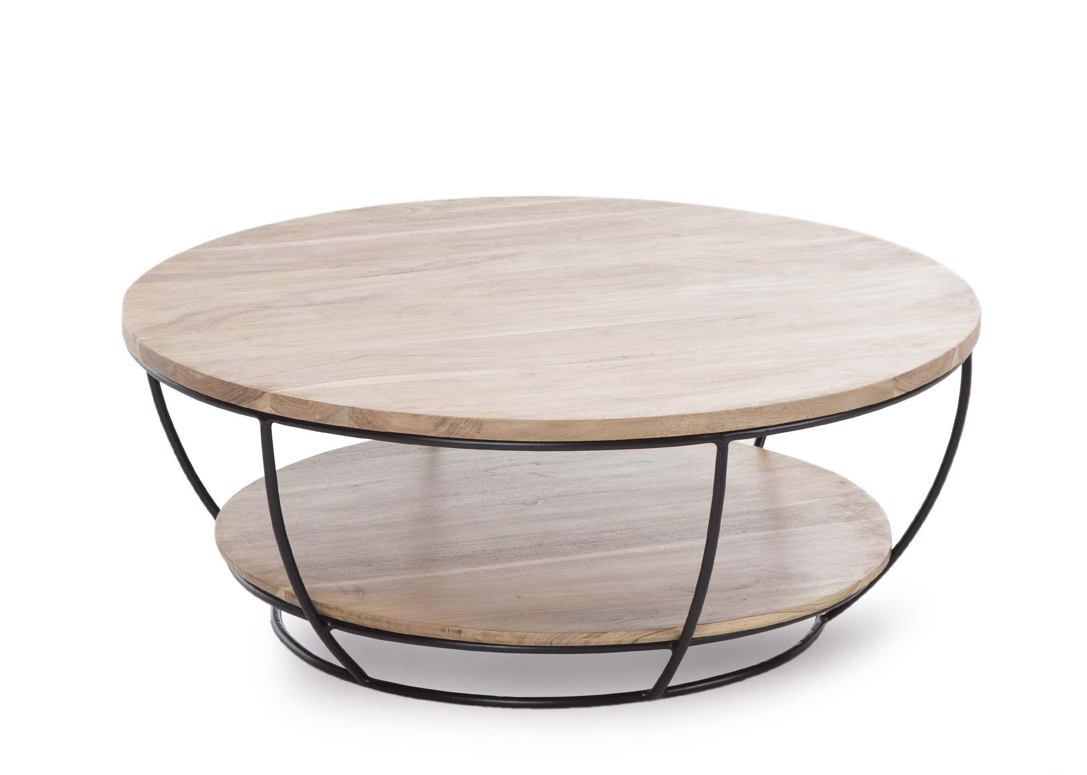 double top round coffee table malta