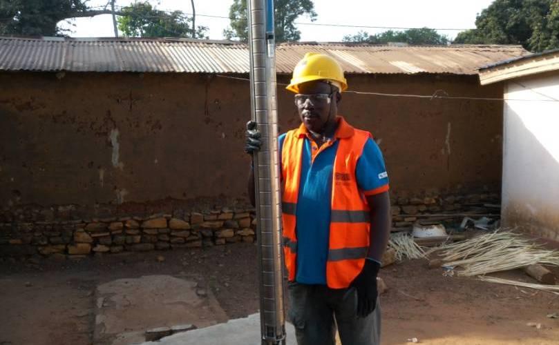 installation de la pompe solaire (2)