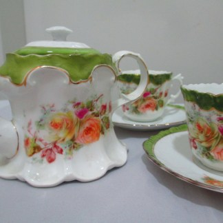 Victorian Porcelain coffee set
