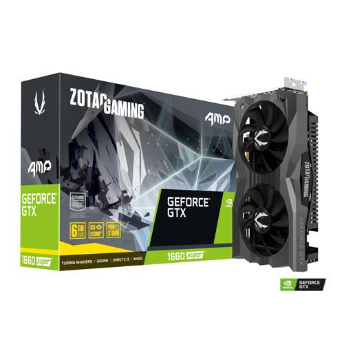 ZOTAC GAMING GeForce GTX 1660 SUPER AMP 6GB