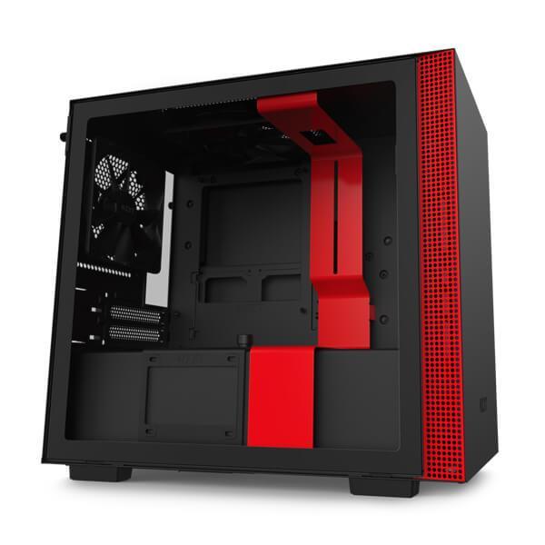 h210 matte black red 1