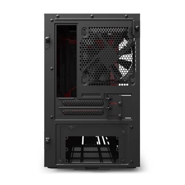 h210 matte black red 6