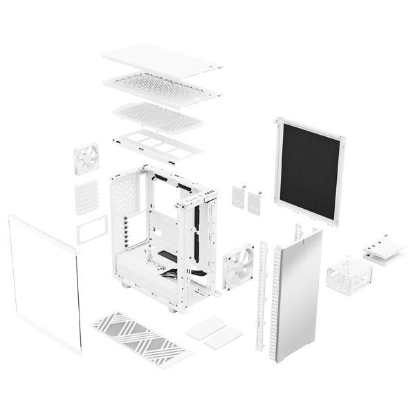 fractal design define 7 compact light tg white 9