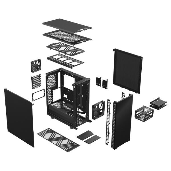 fractal design define 7 compact solid black 9