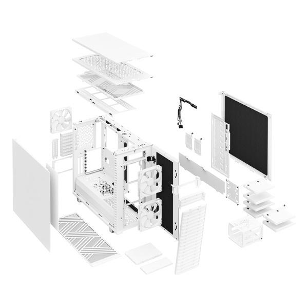 fractal design define 7 solid white 9