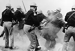 Alabama Police Attack Selma-to-Montgomery Marchers