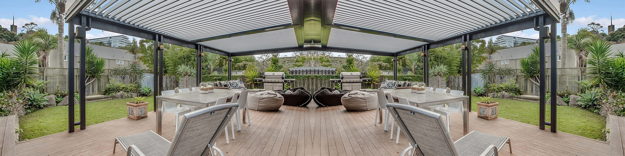 Pergolas And Louvres Add A Roof To Your Deck Ezydeck