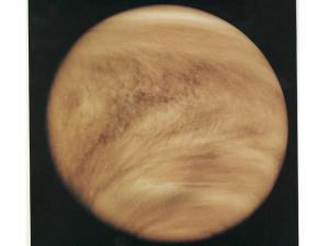 Venus's thick atmosphere