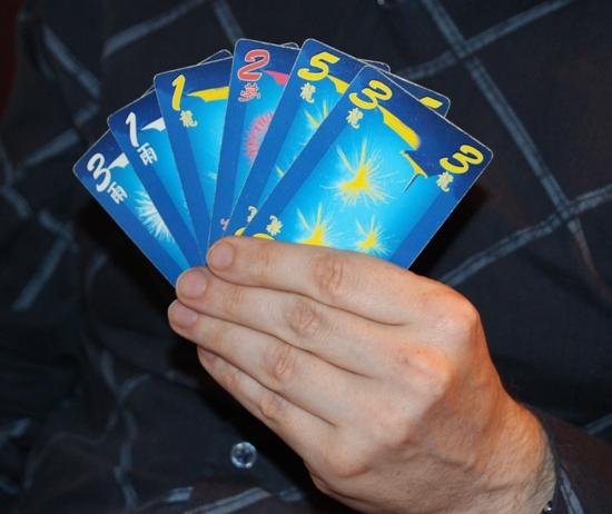 six card hanabi two player