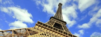 eiffel tower height paris france Facebook Cover timeline ...