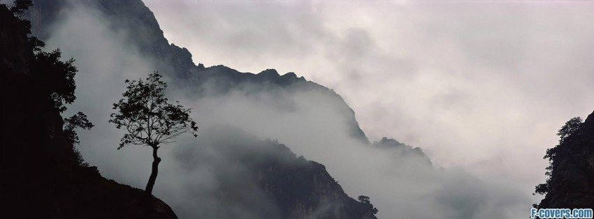 Misty Mountains Facebook Cover Timeline Photo Banner For Fb