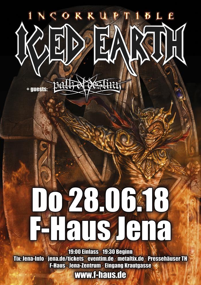 Iced Earth F Haus Jena