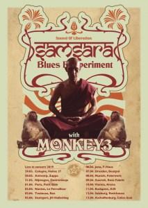 SAMSARA BLUES EXPERIMENT + MONKEY 3 @ F-Haus | Jena | Thüringen | Deutschland