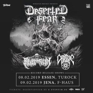 DESERTED FEAR @ F-Haus | Jena | Thüringen | Deutschland