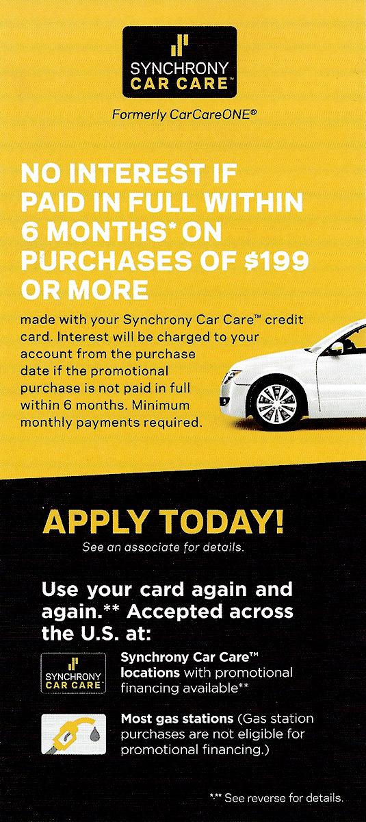 Car Repair Financing