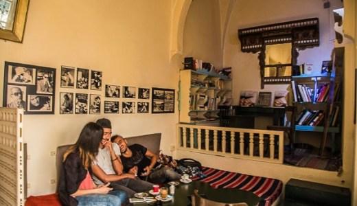 モナスティール:元大統領の生家を改装したカフェ「Cafe  Dar El Habib」<チュニジア>