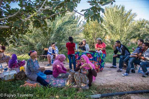 チュニジアの家族