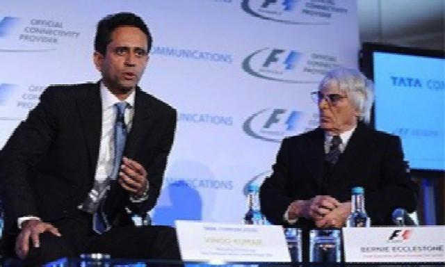 Bernie Ecclestone the Formula One chief executive