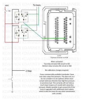 Trans brake wiring schematic, can somebody check this