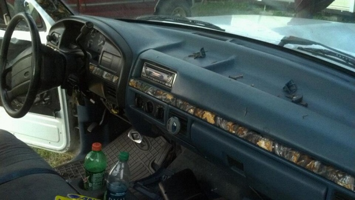 95 F150 Interior Camo Wrap Anyone Done It Just Started