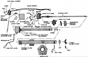 steering column exploded view  Ford F150 Forum