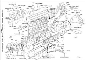 Need a good 49L 300 engine drawing  Ford F150 Forum