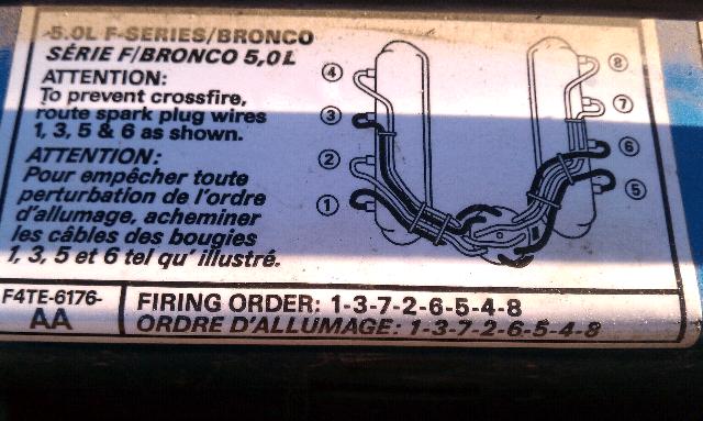 help i need a 96 f150 50 spark plug firing order diagram