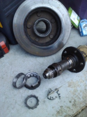 front wheel bearing replace, need help  Ford F150 Forum