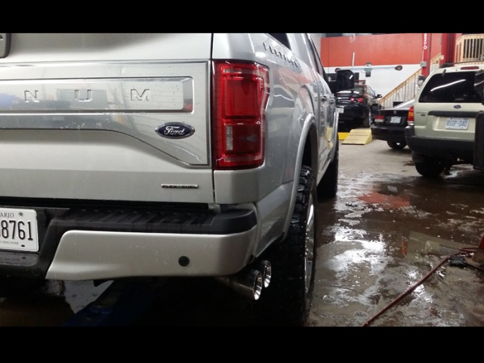 dual exhaust tip ford f150 forum
