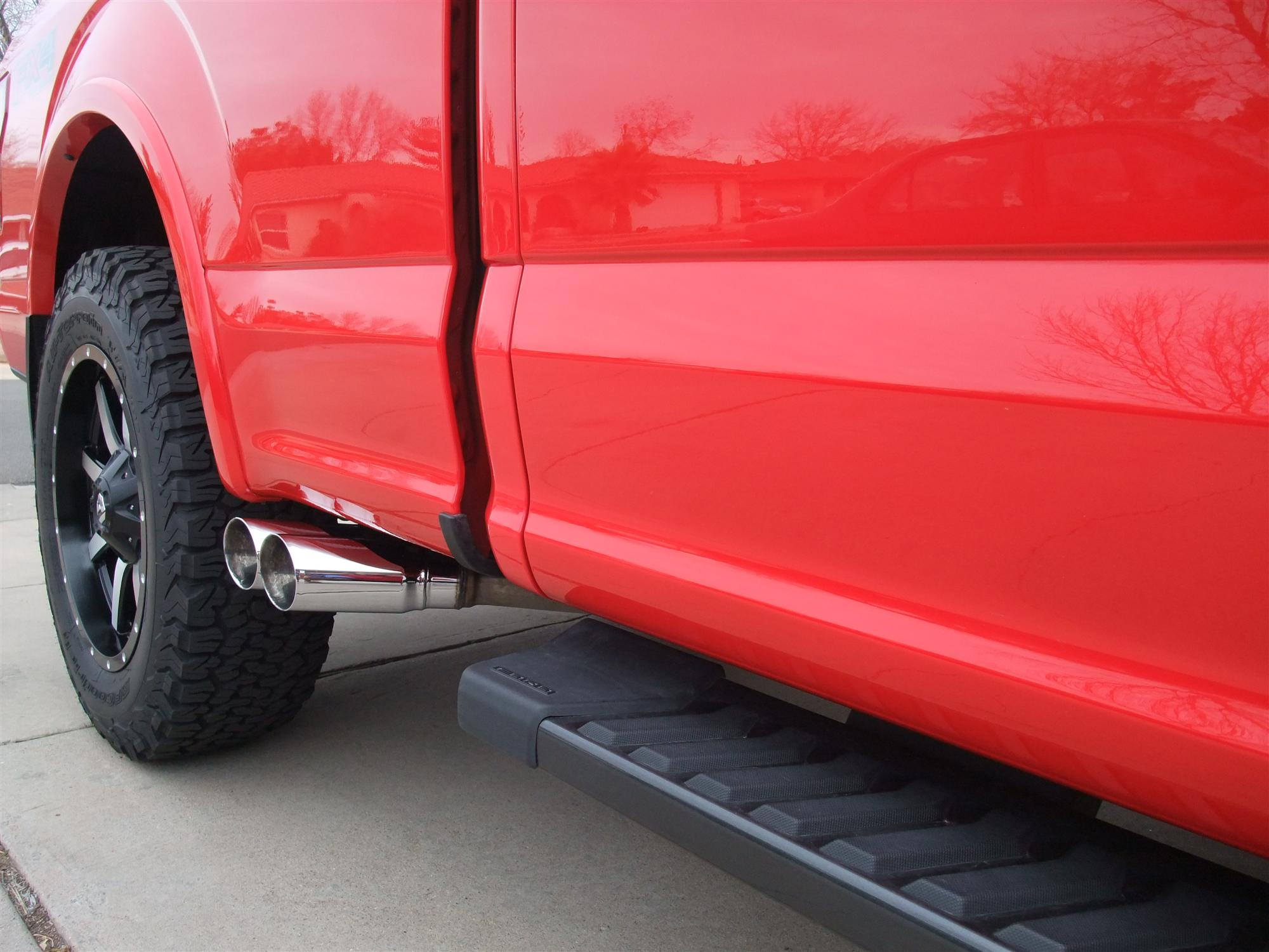 side exit exhaust ford f150 forum