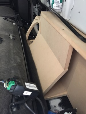 2015 Behind the seat subwoofer box  Ford F150 Forum