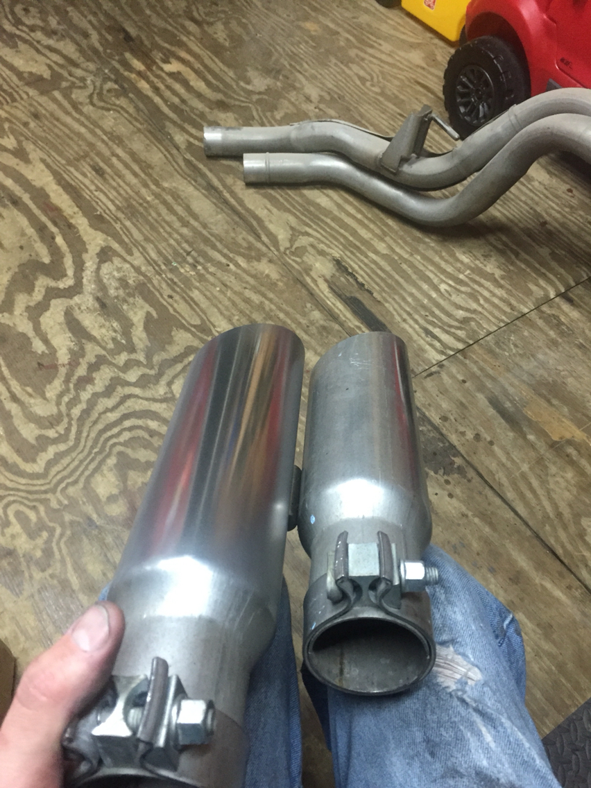 raptor exhaust tips ford f150 forum