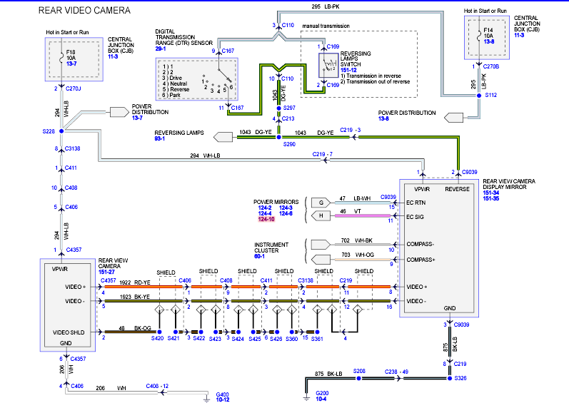 Mirror Wiring Rear F150 Diagram View 2016