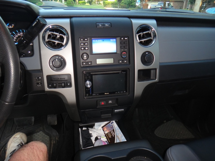 Ford F150 Stereo Install Kit