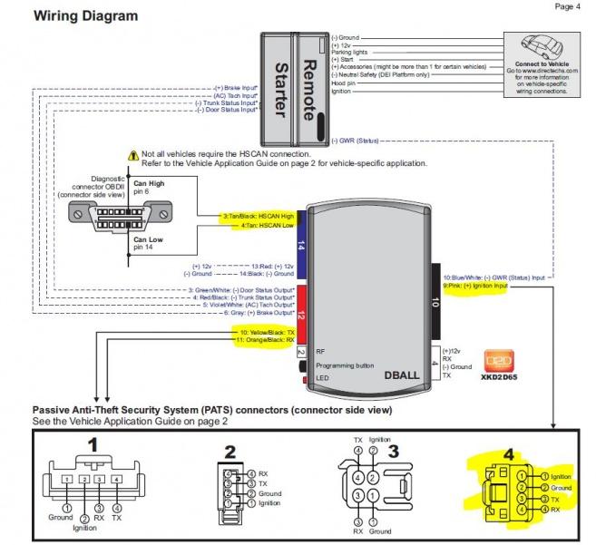 python remote start wiring diagram python remote start