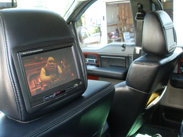 Headrest Monitors Ford F150 Forum Community Of Ford